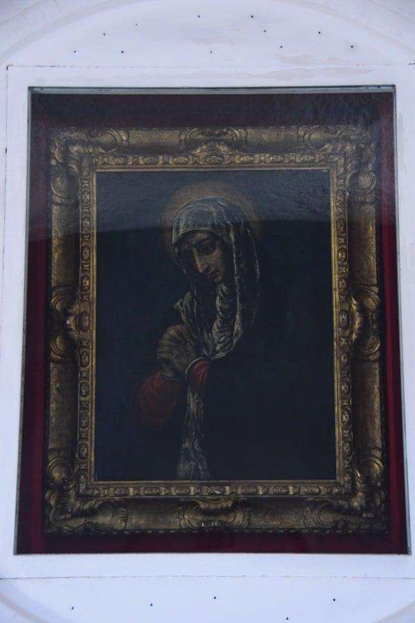 21_Madonna Dolorosa-El-Greco-Kirche-Stella-Maris-Porto-Cervo-Costa-Smeralda-Sardinien-Italien