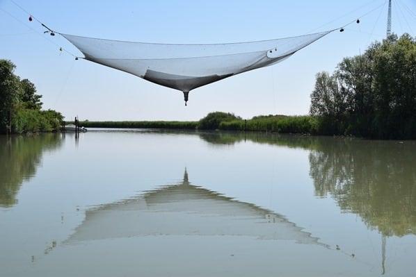 07_Bilancia-di-Bepi-Fischernetz-Lagune-von-Marano-Lignano Sabbiadoro-Italien