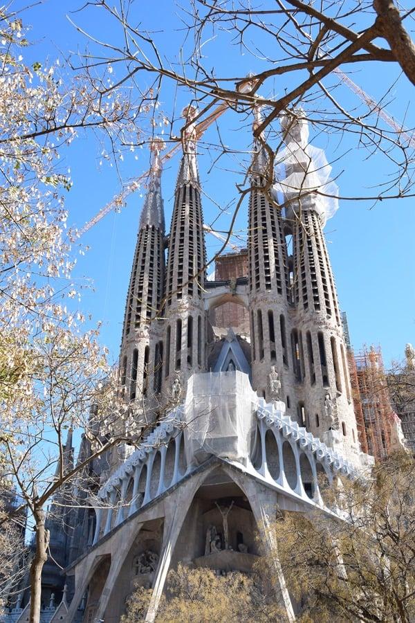 Landgang-Kreuzfahrt-Sagrada-Familia-Baustelle-Barcelona-Spanien