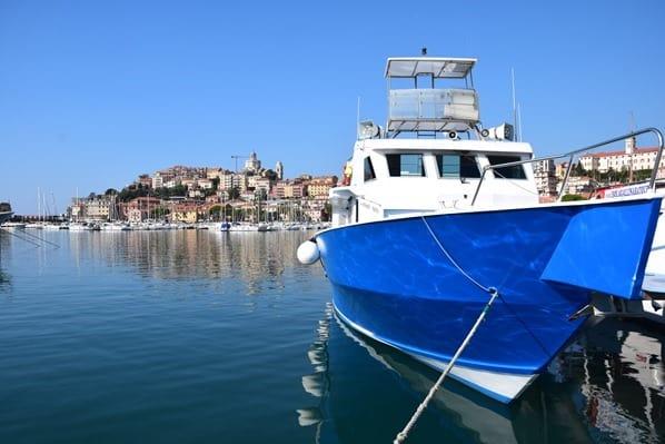 01_Whalewatch-Imperia-Schiff-Corsara-Hafen-Imperia-Ligurien-Italien
