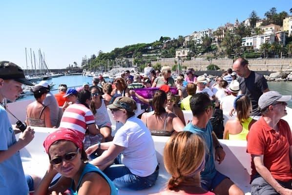 04_Whalewatch-Imperia-Schiff-Corsara-Oberdeck-Ligurien-Italien