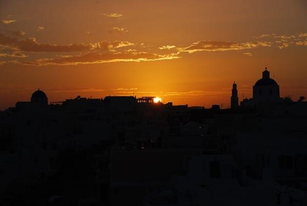 10_Sonnenuntergang-Santorin-Ia-Oia-Kykladen-Griechenland