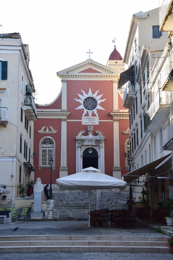 04_Kreuzfahrt-oestliches-Mittelmeer-Kirche-der-Jungfrau-Maria-Spiliotissa-Mitropolis-Korfu-Griechenland