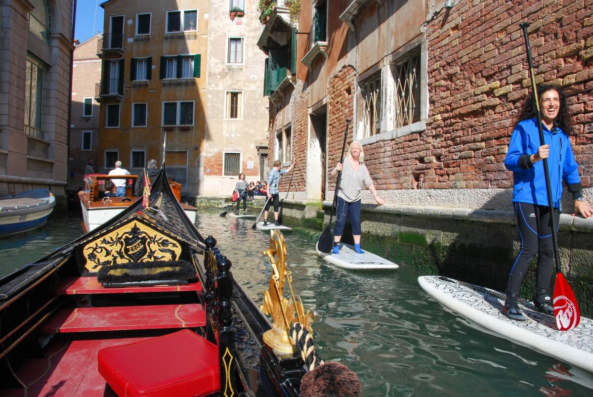Venedig SUP Stand Up Paddling Kanal