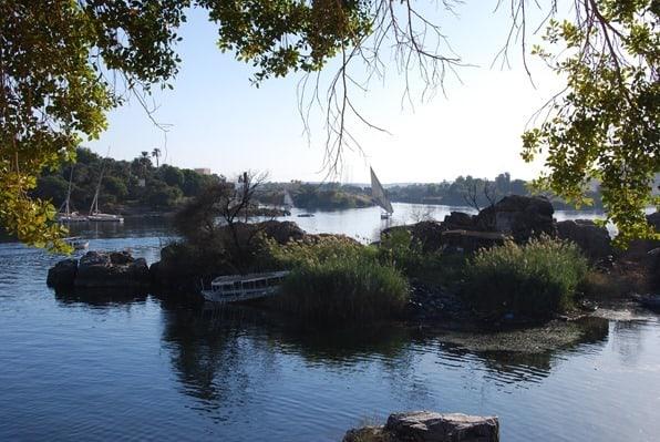 17_Segelboot-Feluke-Nil-Insel-Elephantine-Nilkreuzfahrt-Assuan-Aegypten