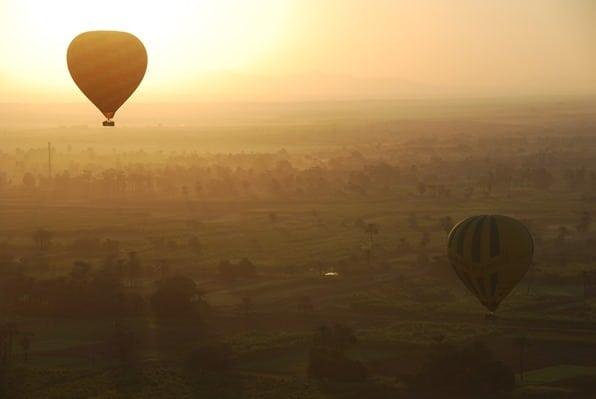 28_Sonnenaufgang-Heisluftballon-Luxor-Aegypten