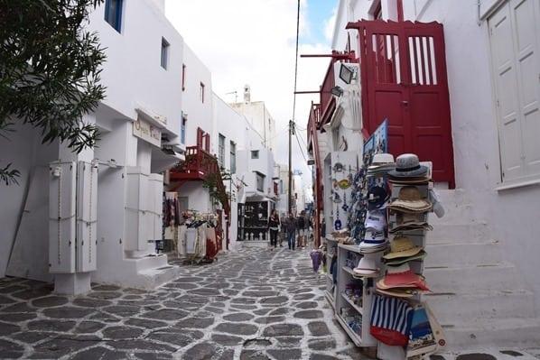07_Kreuzfahrt-Mykonos-Stadt-Gassen-Einkaufen-Griechenland