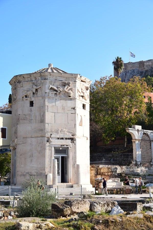 23_Turm-der-Winde-Akropolis-Athen-Griechenland-Kreuzfahrt-Mittelmeer