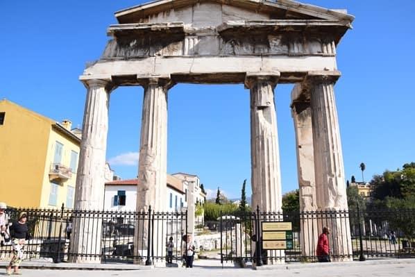 24_Roemische-Agora-Athen-Griechenland-Kreuzfahrt-Mittelmeer