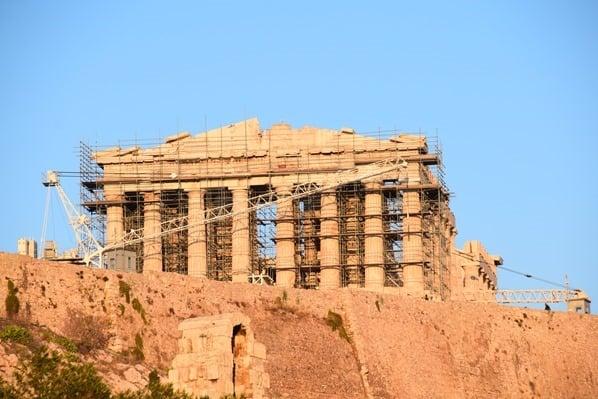 31_Akropolis-Athen-Griechenland-Kreuzfahrt-Mittelmeer-Abendlicht