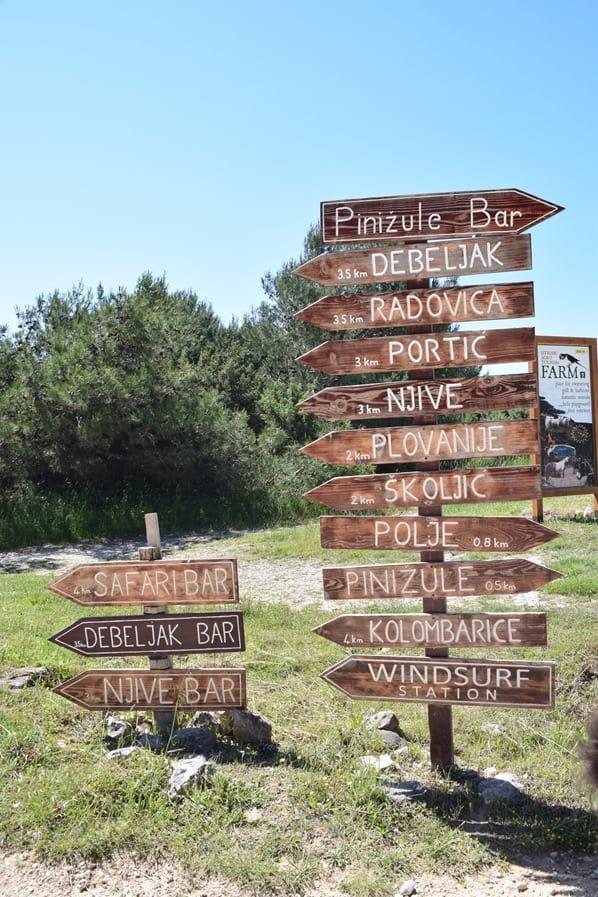 04_Wegweiser-Naturpark-Kap-Kamenjak-Istrien-Kroatien