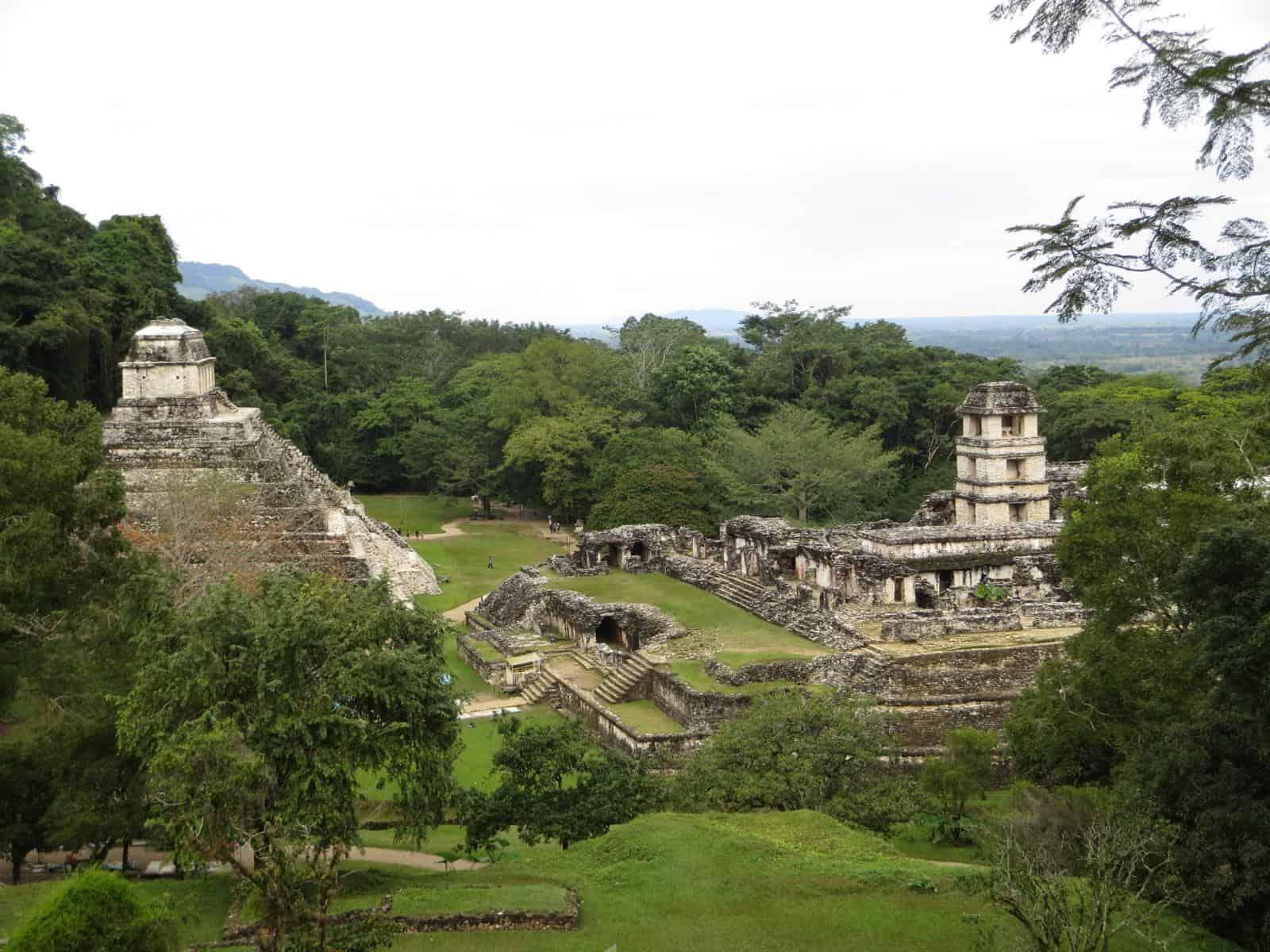 0 maya ruine palenque mexiko