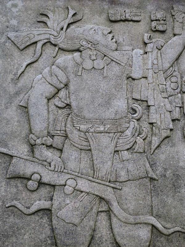 12_Maya-Ruine-Palenque-Mexiko-Inschriften