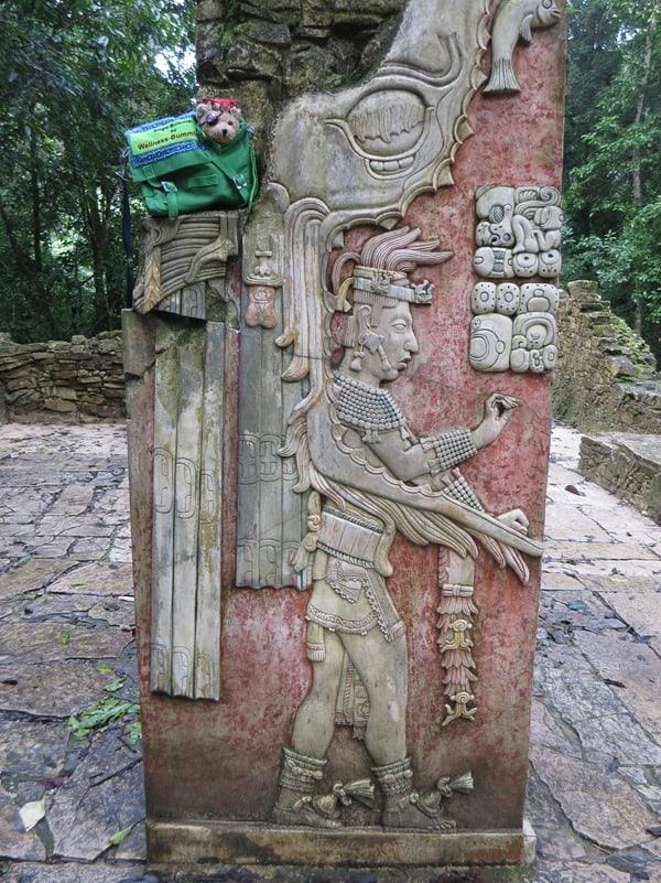13_Maya-Ruine-Palenque-Mexiko-Inschriften-Jack-Bearow