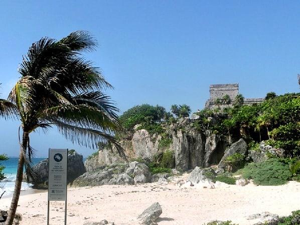 Maya-Strand-Tulum-Mexiko