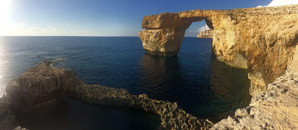 02 Panorama Gozo Malta Azure WindowAzure Window Gozo Malta Panorama