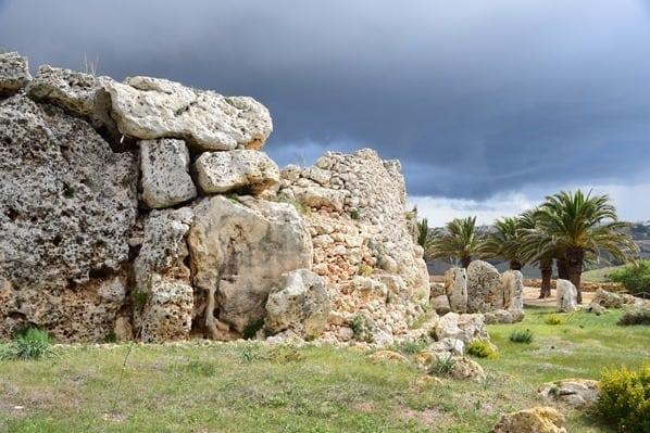 06_Ggantija-Tempel-in-Xaghra-Gozo-Malta-Mittelmeer