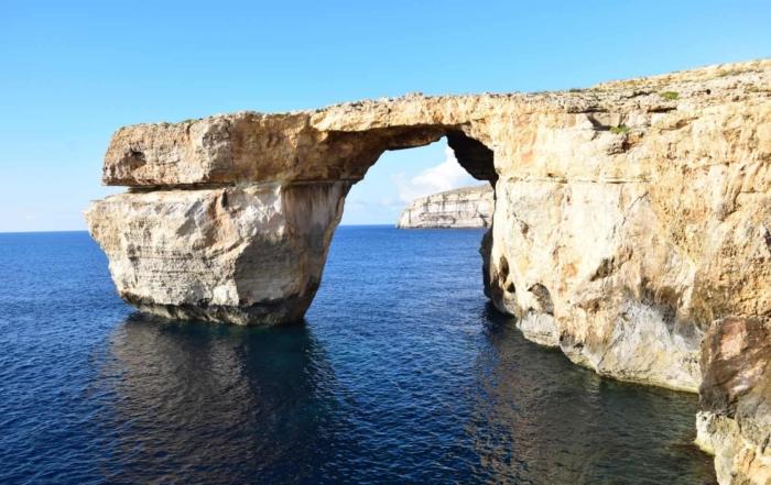 Goodbye Azure Window Gozo Malta Mittelmeer