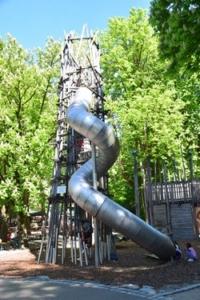 Kinderspielplatz Tierpark Hellabrunn Zoo Muenchen