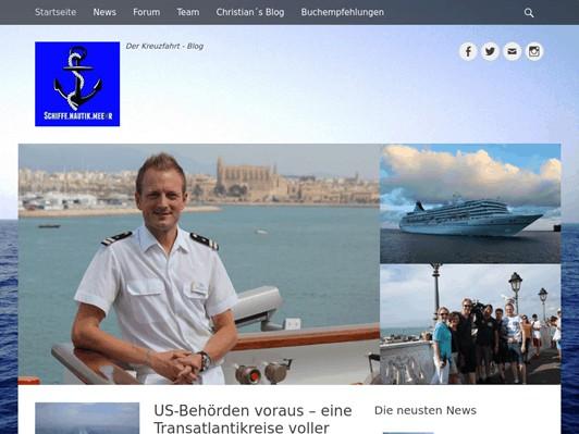 Kreuzfahrtblog Christian Baumann