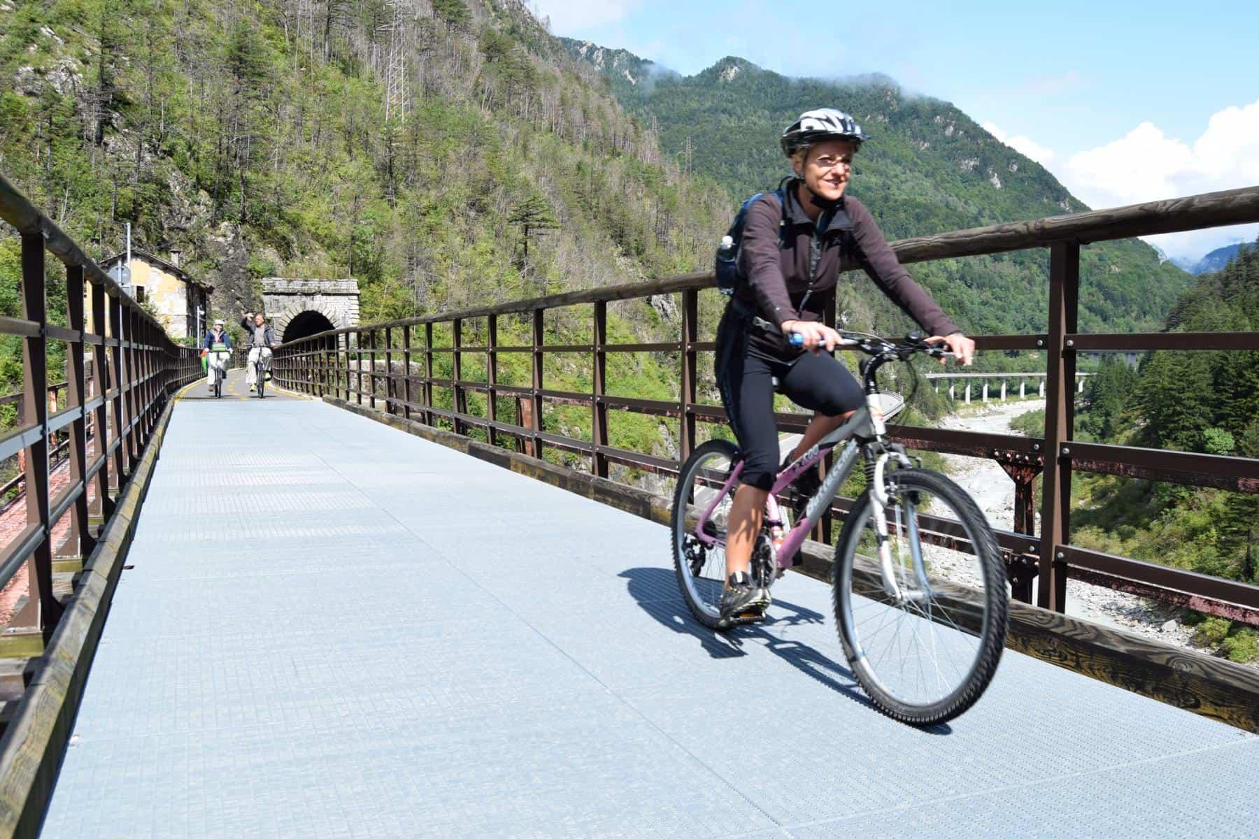 Ciclovia Alpe Adria Radweg Friaul Julisch Venetien Italien