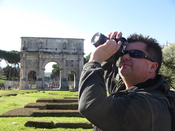 11_Kreuzfahrtblogger-Reiseblogger-Daniel-Dorfer-Konstantinsbogen-Citytrip-Rom-Italien