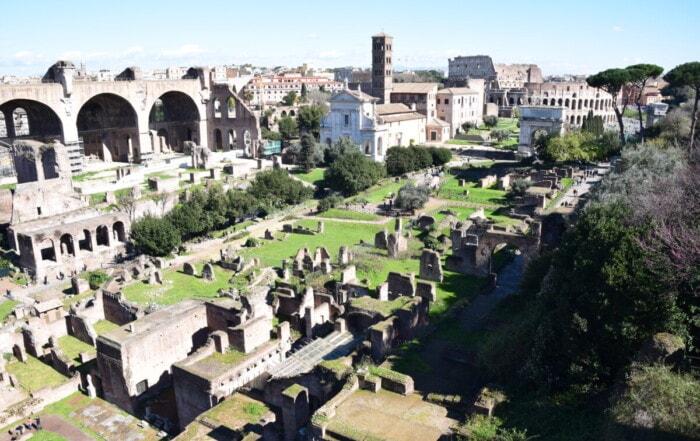 Forum Romanum Kolosseum Colosseo Städtereise Rom Italien