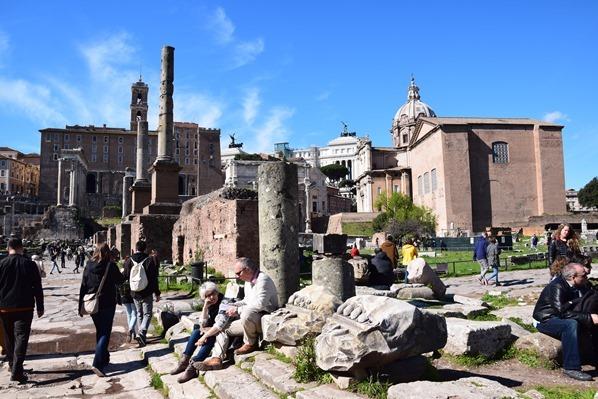 28_Forum-Romanum-Foro-Romano-Citytrip-Rom-Italien