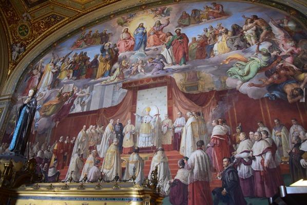 14_Wandgemaelde-in-den-Stanzen-des-Raffael-Vatikan-Vatikanische-Museen-Citytrip-Rom-Italien