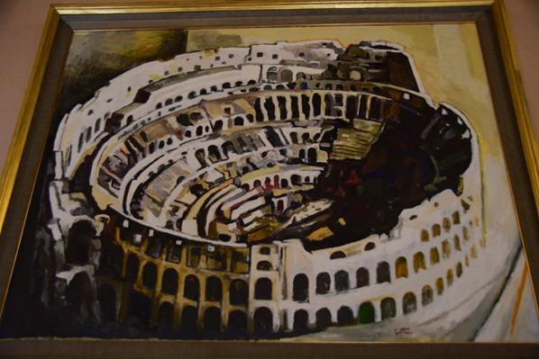 15_Zeitgenoessische-Kunst-Gemaelde-Kolosseum-Vatikan-Vatikanische-Museen-Citytrip-Rom-Italien