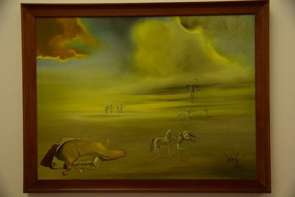 17_Zeitgenoessische-Kunst-Gemaelde-Salvador-Dali-Vatikan-Vatikanische-Museen-Citytrip-Rom-Italien