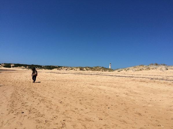 Cap-Trafalgar-Strand-Leuchtturm-Andalusien-Spanien