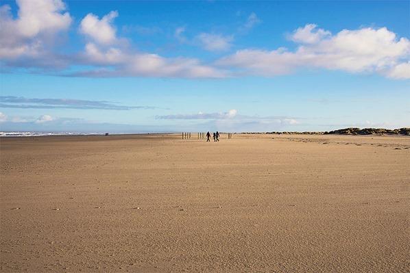 Nordsee-Strand-Schiermonnikoog-Holland