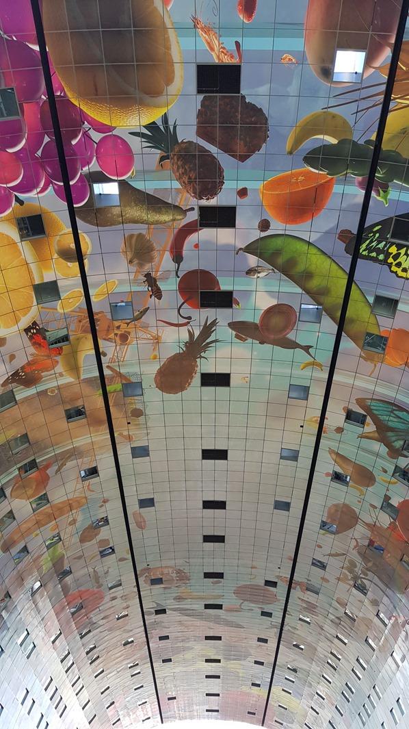 05_a-rosa-Flusskreuzfahrt-Rhein-Decke-Markthalle-Rotterdam-Holland-Niederlande