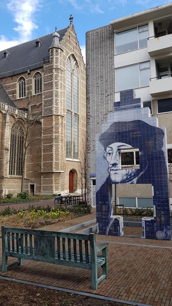 18_a-rosa-Flusskreuzfahrt-Rhein-Erasmus-Monument-Laurenskerk-Rotterdam-Holland-Niederlande