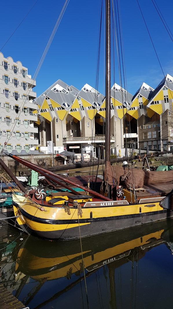 19_a-rosa-Flusskreuzfahrt-Rhein-Alter-Hafen-Cube-Houses-Architektur-Rotterdam-Holland-Niederlande