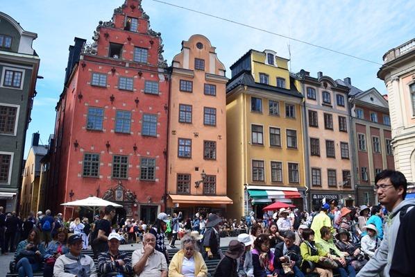 08_Stadt-Stockholm-Stortorget-Gamla-Stan-Schweden-Ostsee-Kreuzfahrt