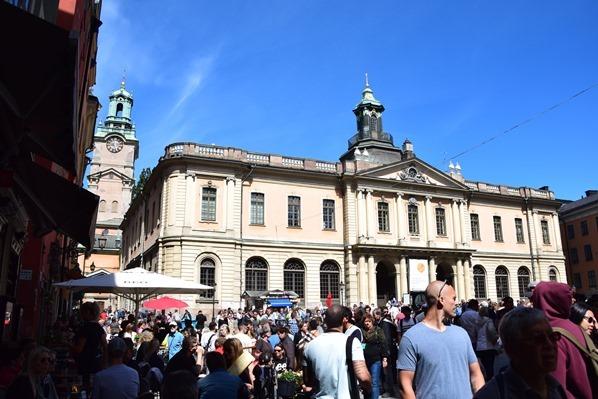 09_Stadt-Stockholm-Stortorget-Nobelmuseum-Gamla-Stan-Schweden-Ostsee-Kreuzfahrt