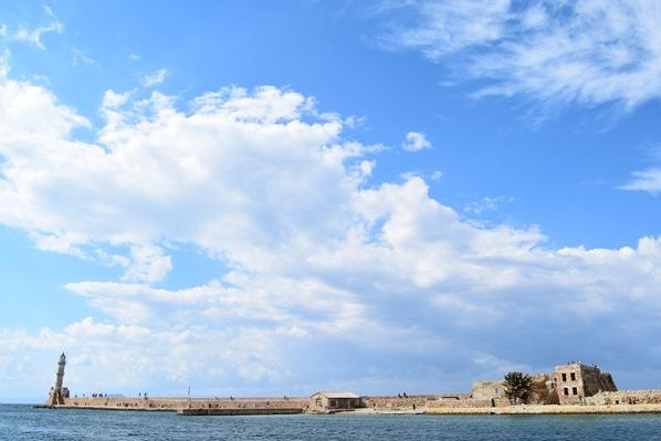 03_Leuchtturm-Hafenmauer-Alter-Venezianischer-Hafen-Chania-Kreta-Griechenland