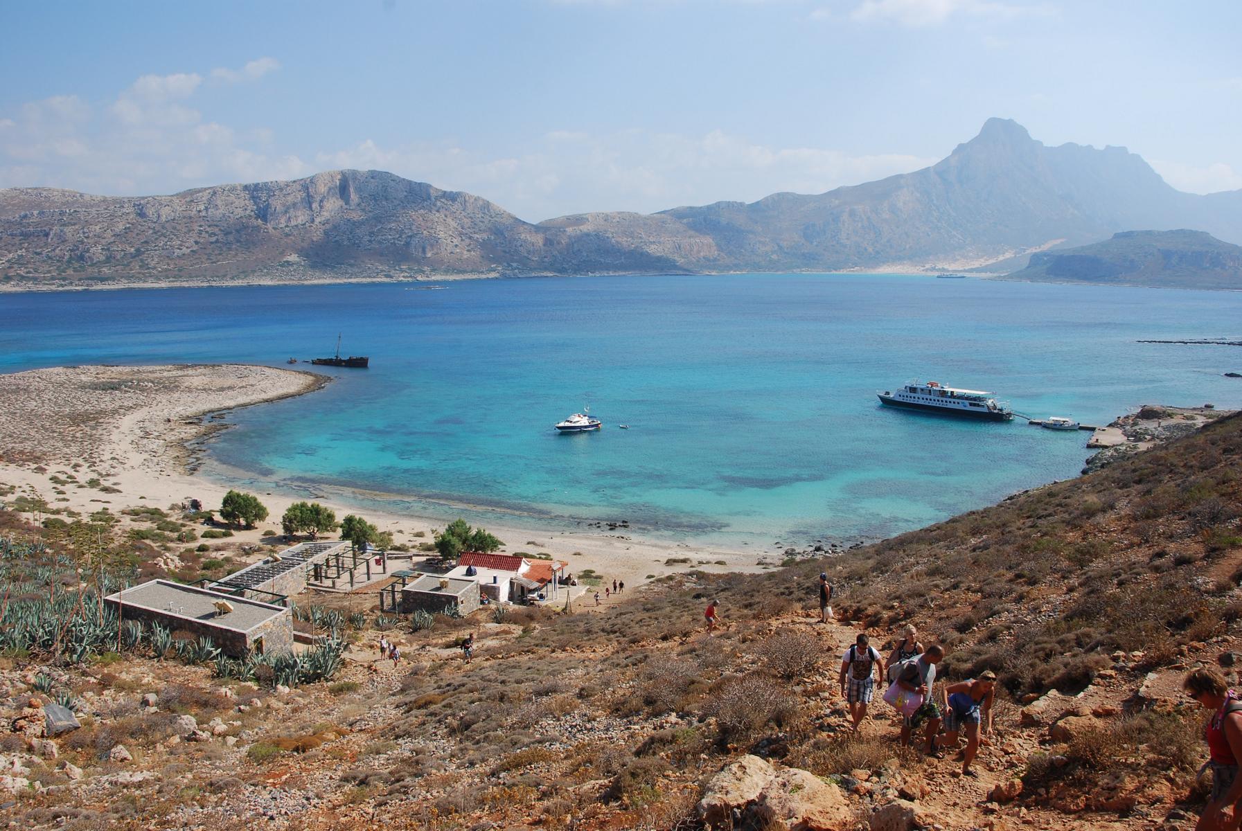 0 Ausflug Insel Gramvousa Chania Kreta Griechenland