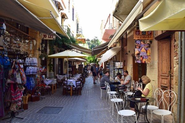 12_Altstadt-Gassen-Einkaufen-Chania-Kreta-Griechenland