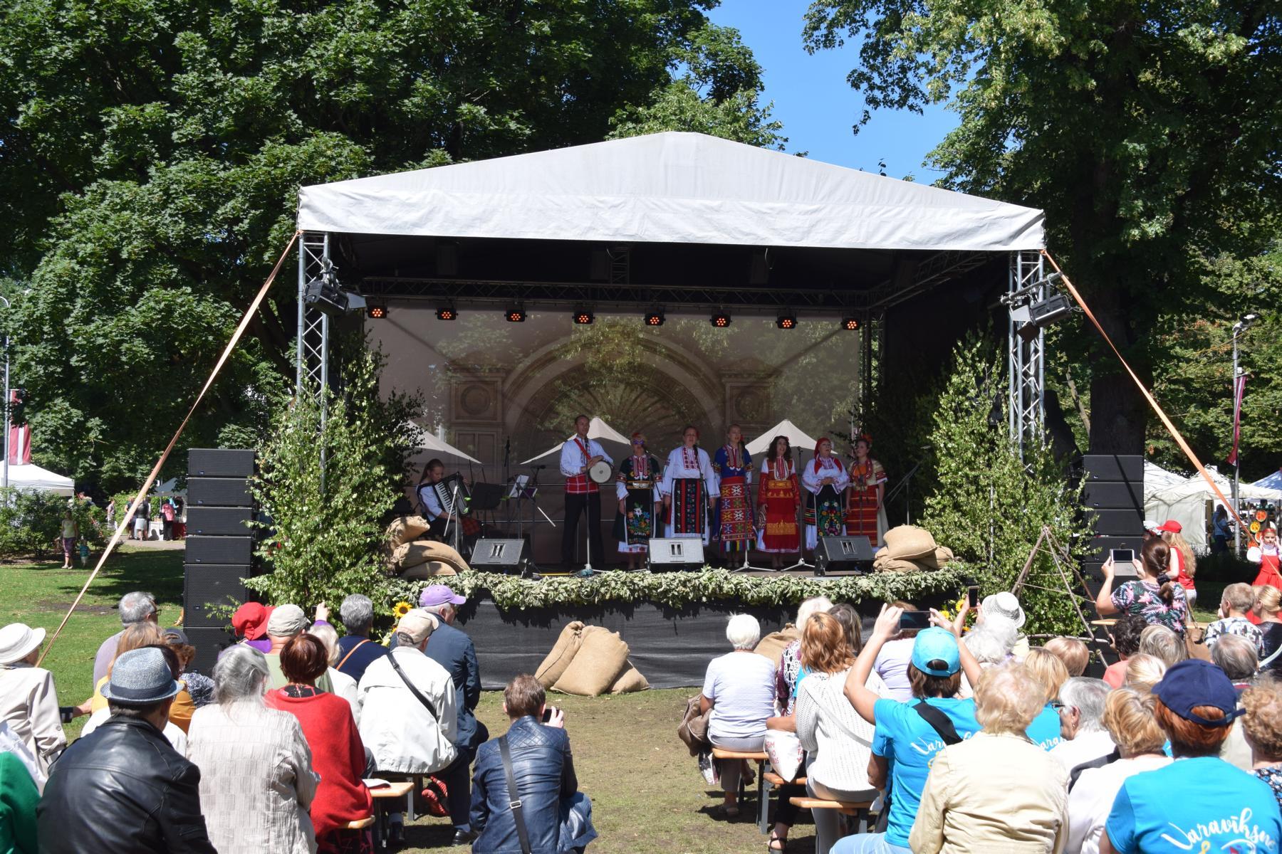 Sängerfest Riga Liederfest Lettland Ostsee Kreuzfahrt