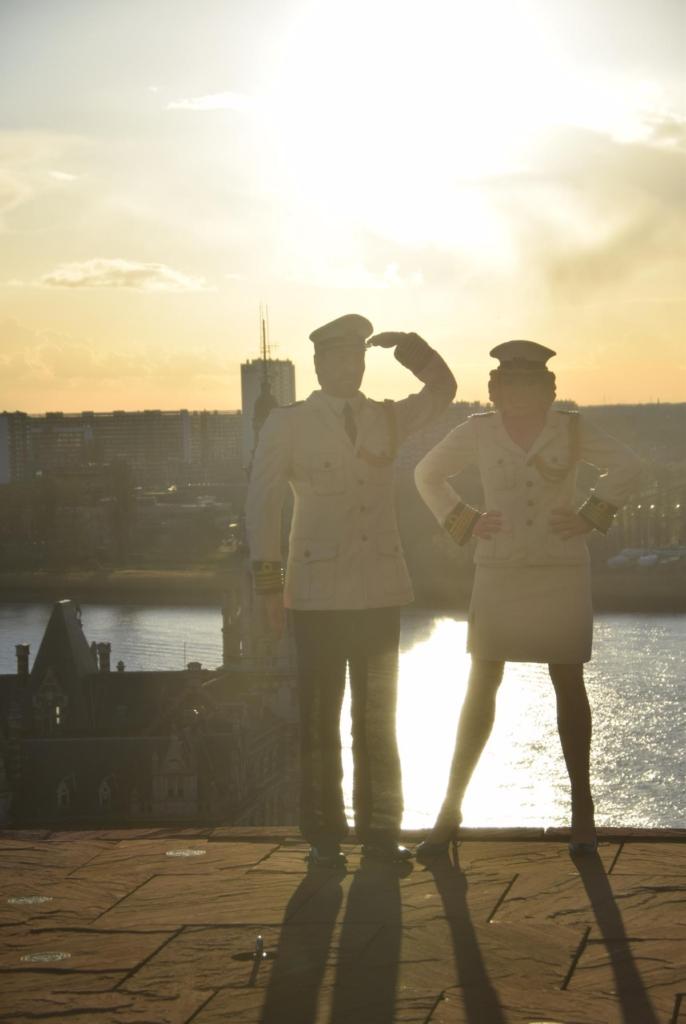 27 sonnenuntergang museum aan de stroom antwerpen belgien a rosa flusskreuzfahrt rhein