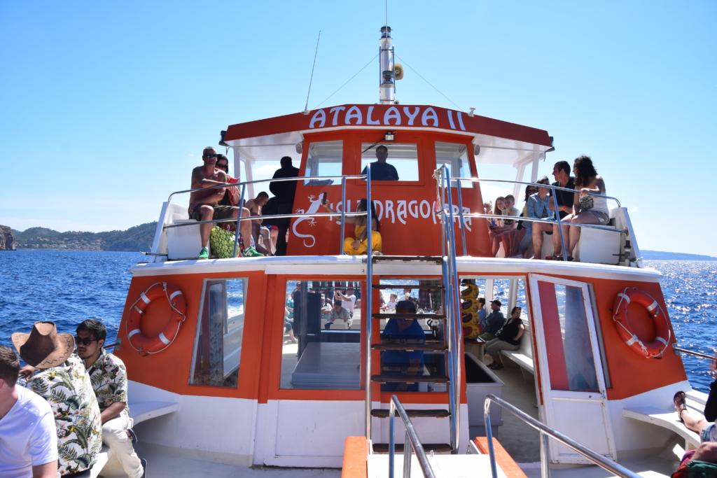 Sa Dragonera Dracheninsel Mallorca Ausflugsboot Atalaya II Ausflug mit Kindern Peguera