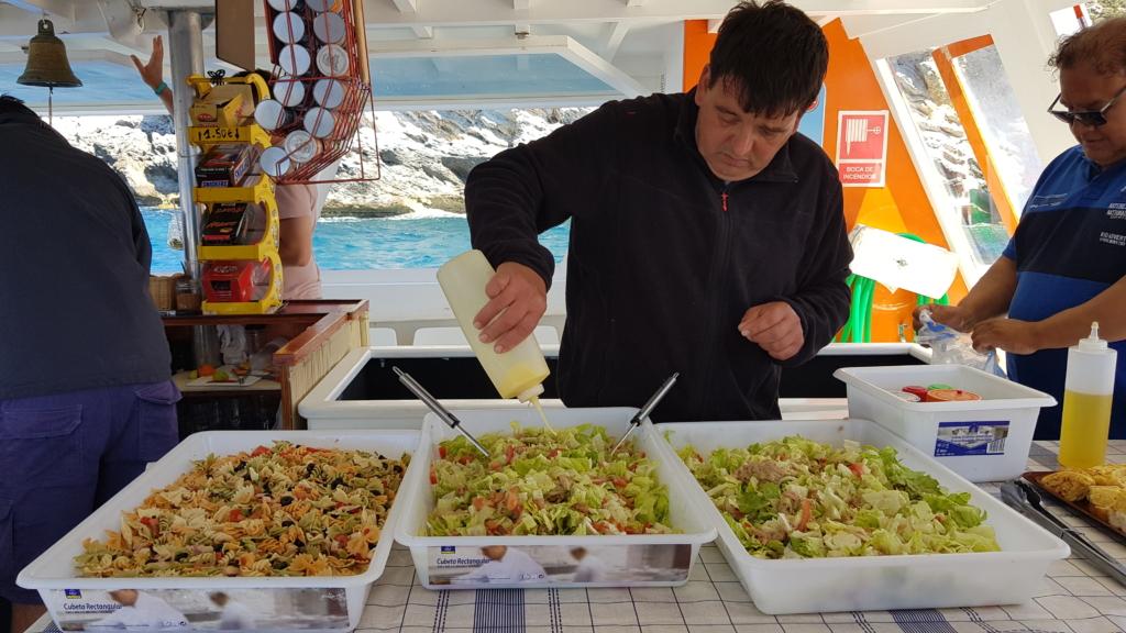 Sa Dragonera Dracheninsel Mallorca Ausflugsboot Atalaya II Lunch Essen Balearen Spanien