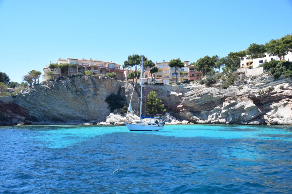 Ausflug Sa Dragonera Dracheninsel Mallorca Badestop schwimmen Bucht Bootstour Balearen Spanien