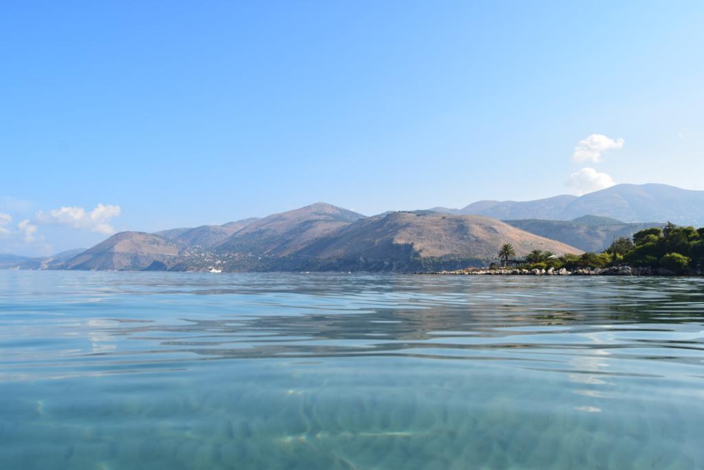 Familienkreuzfahrt Costa Strand Meer baden Kefalonia Argostoli Griechenland Kreuzfahrt
