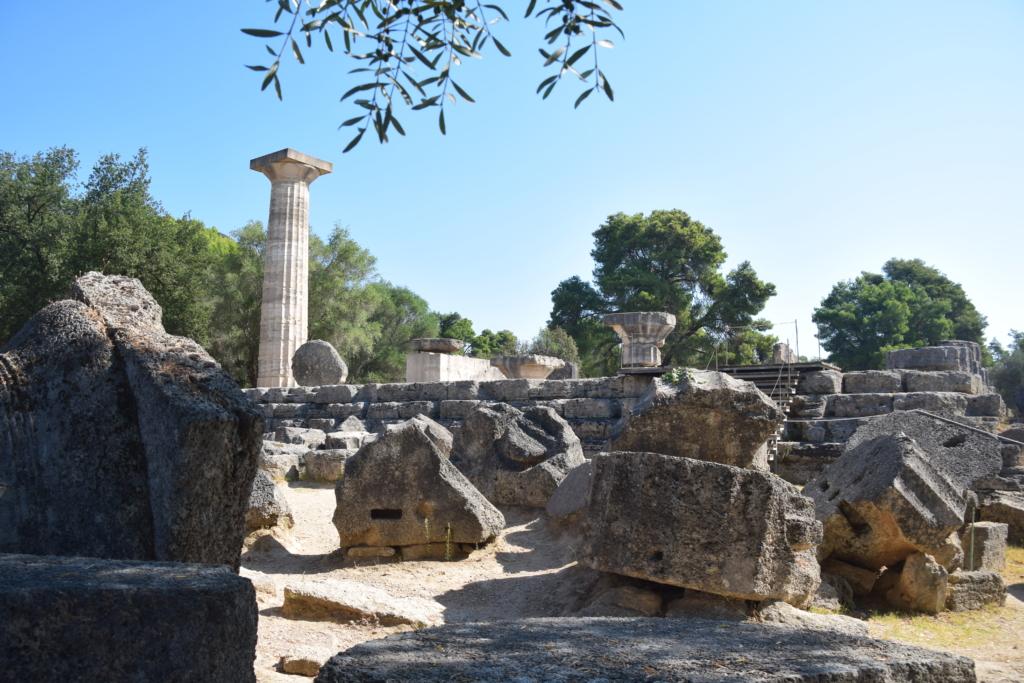 Familienkreuzfahrt Costa Ruinen Olympia Kataklon Griechenland Kreuzfahrt