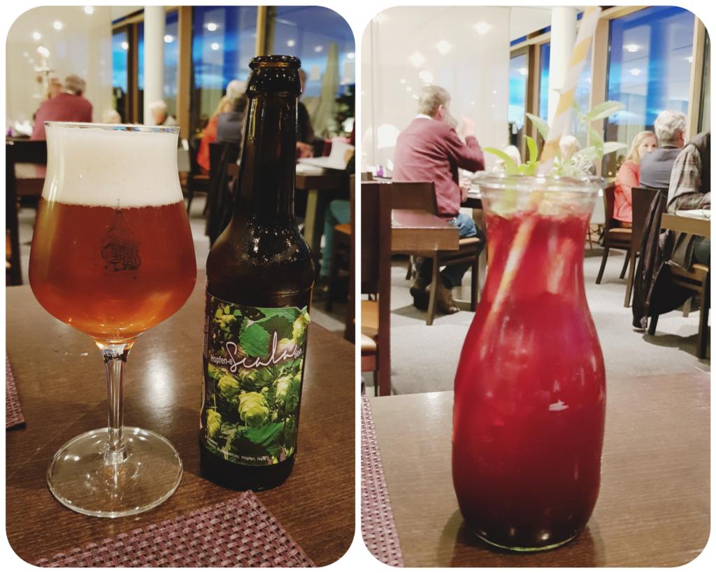 Bad Waldsee Drinks Abendessen Restaurant Scala Baden Württemberg Deutschland