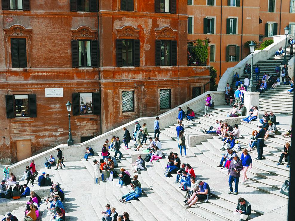 Spanische Treppe Rom Verblasster Mythos Stadtabenteuer